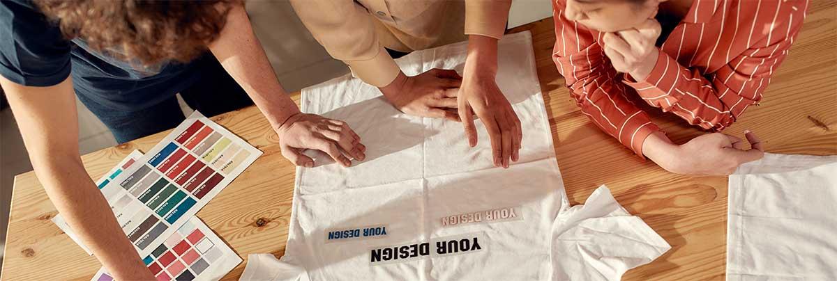 Team bedruckt T-Shirt