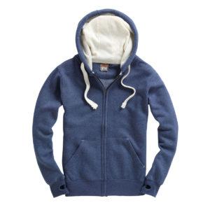 Hooded Zipper Sweatshirt Cottonridge