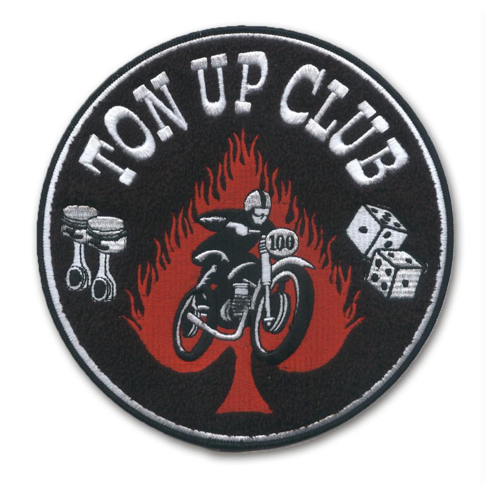 Chenille Aufnäher bike