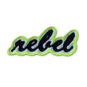 Chenille Aufnäher rebel