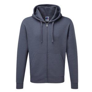 Hooded Zipper Sweater Russell