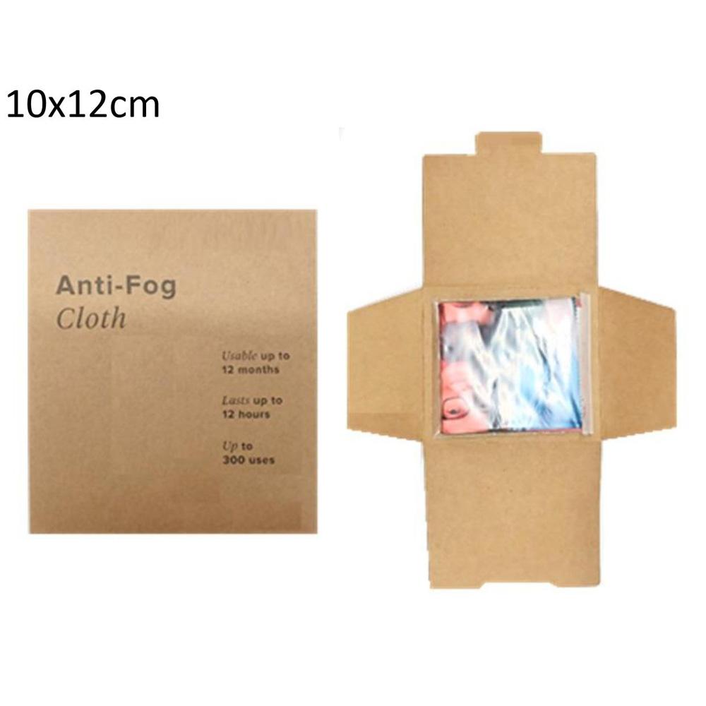 Anti-Fog Brillenputztuch Kraftpapierverpackung