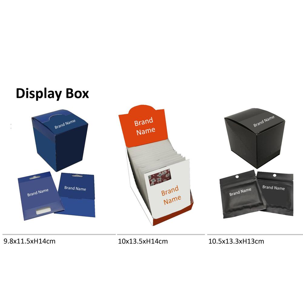 Displaybox für Brillenputztücher