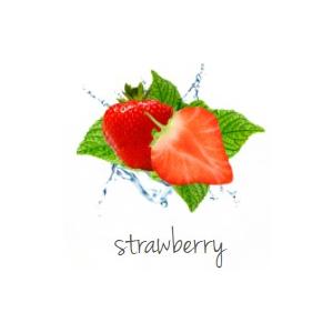 Duftanhänger bedrucken lassen Erdbeere