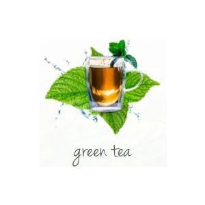 Lufterfrischer bedrucken grüner Tee