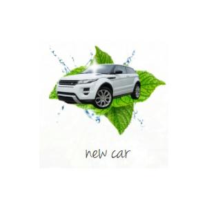 Lufterfrischer bedrucken neues Auto