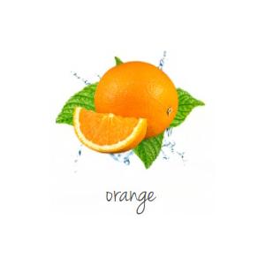 Lufterfrischer beducken orange