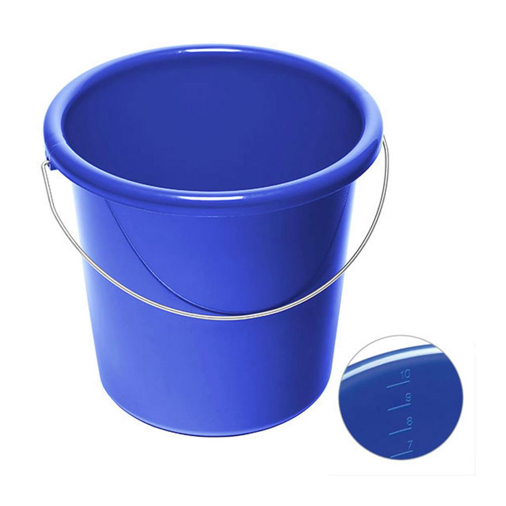10 Liter Eimer bedrucken blau