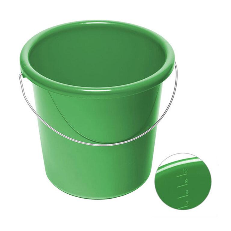 10 Liter Eimer bedrucken gruen