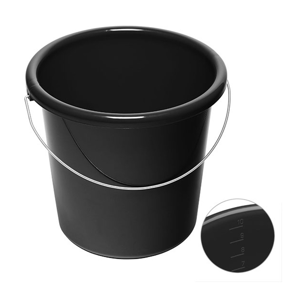10 Liter Eimer bedrucken schwarz