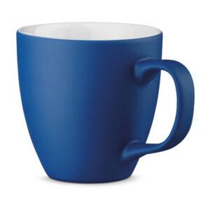 XL Tasse 450ml bedrucken blau matt