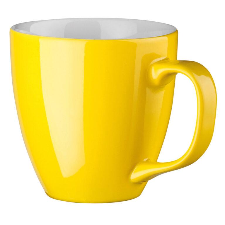 XL Tasse 450ml bedrucken gelb