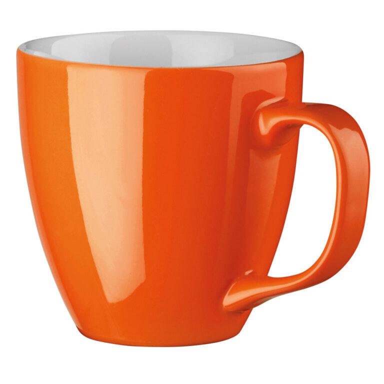 XL Tasse 450ml bedrucken orange