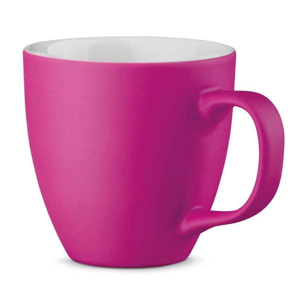 XL Tasse 450ml bedrucken pink matt