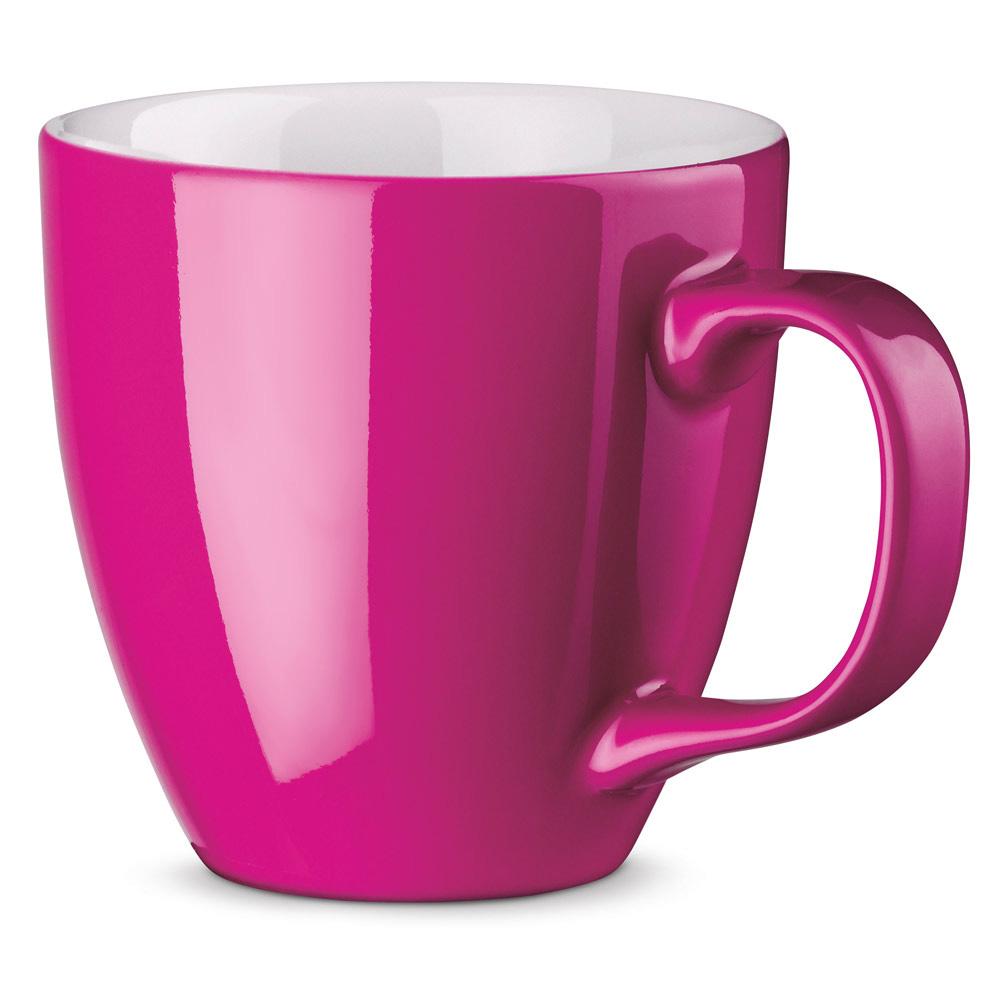 XL Tasse 450ml bedrucken pink
