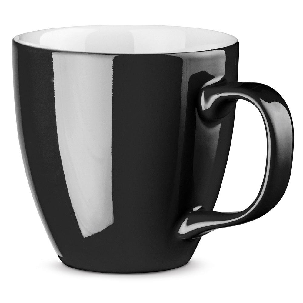 XL Tasse 450ml bedrucken schwarz