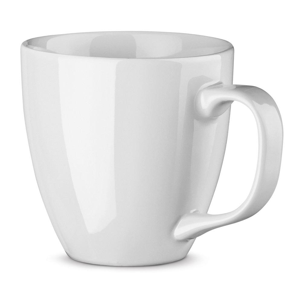 XL Tasse 450ml bedrucken weiß glänzend
