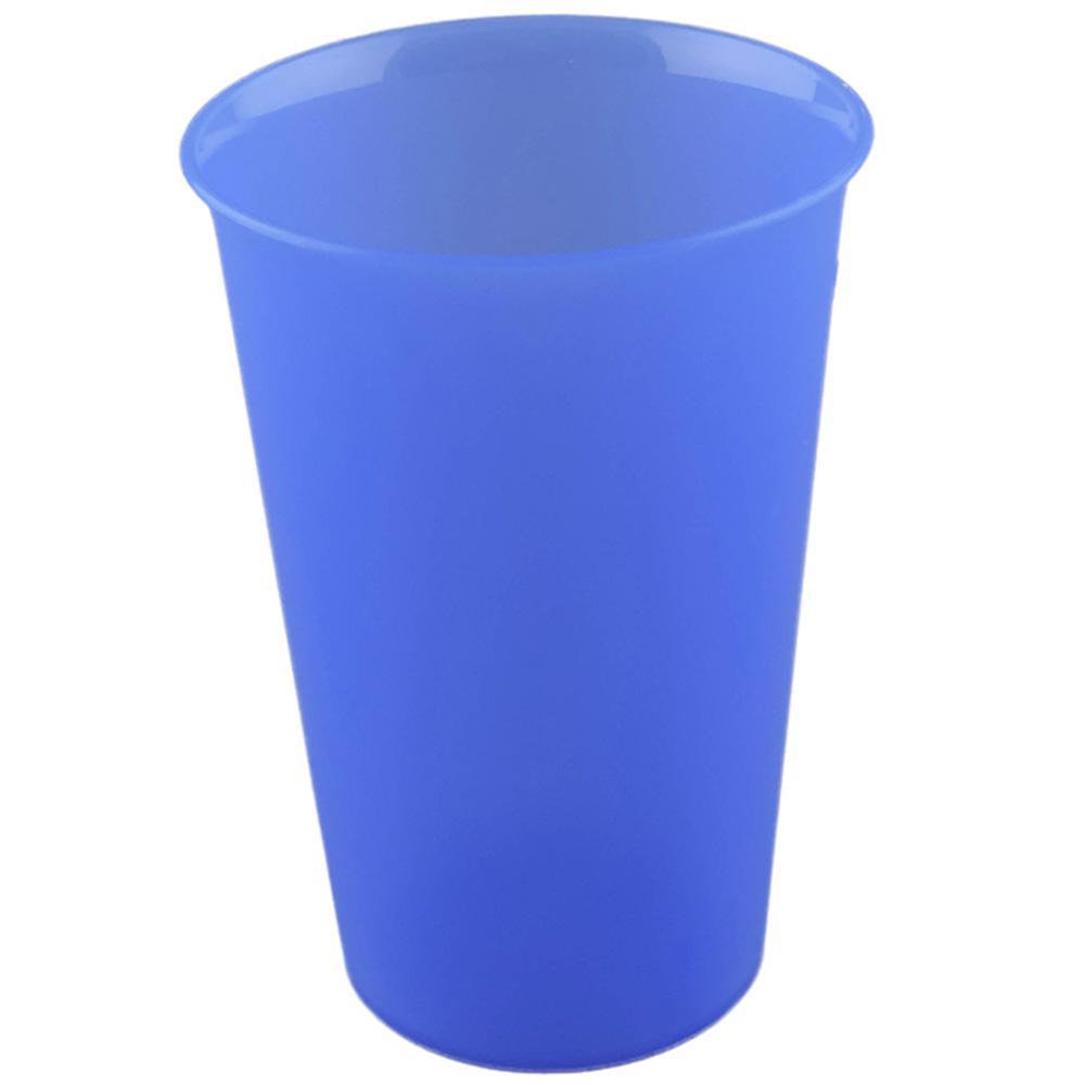 Trinkbecher Mehrweg 300ml blau bedrucken lassen