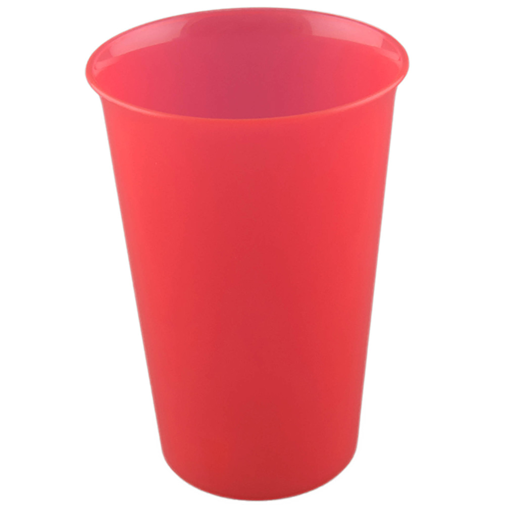 Trinkbecher Mehrweg 300ml rot bedrucken lassen