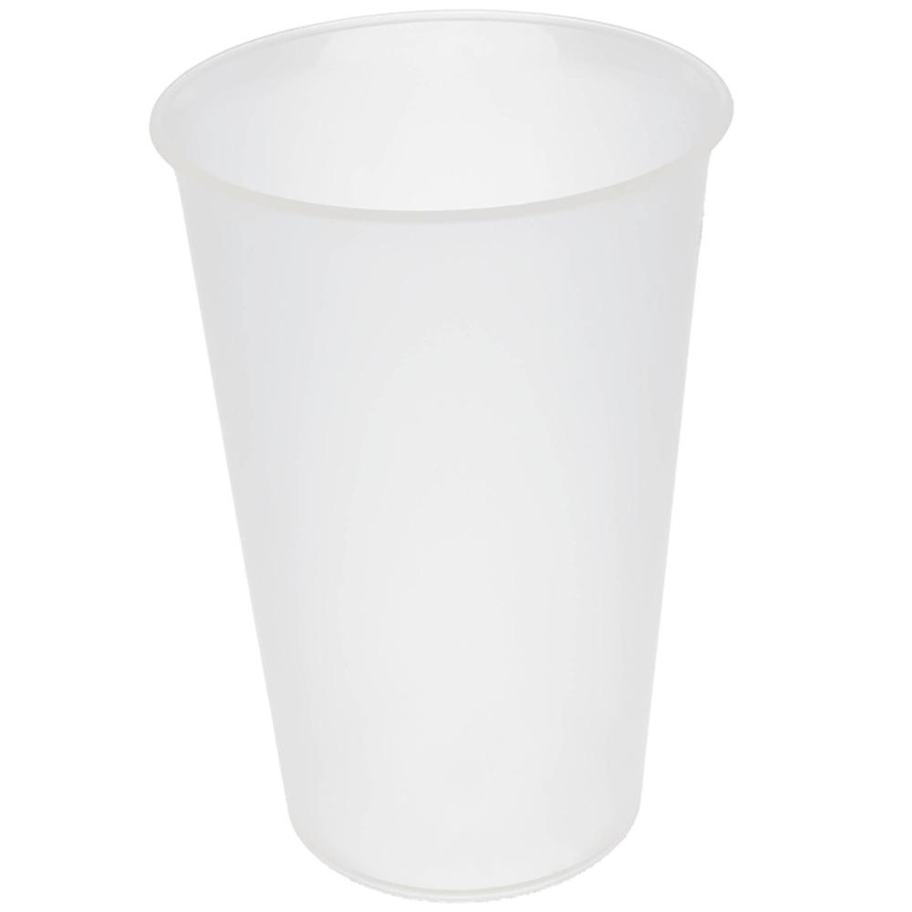 Trinkbecher Mehrweg 500ml oder 300ml transparent