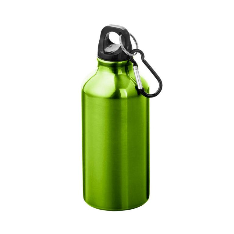 Aluminium Trinkflasche 400ml grün