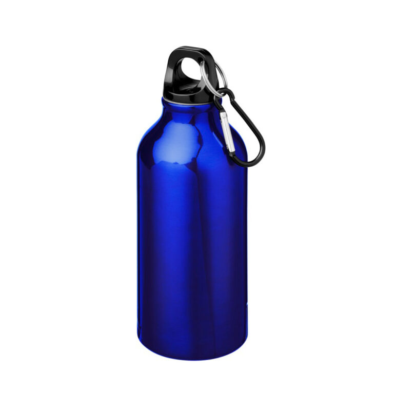 Aluminium Trinkflasche 400ml blau