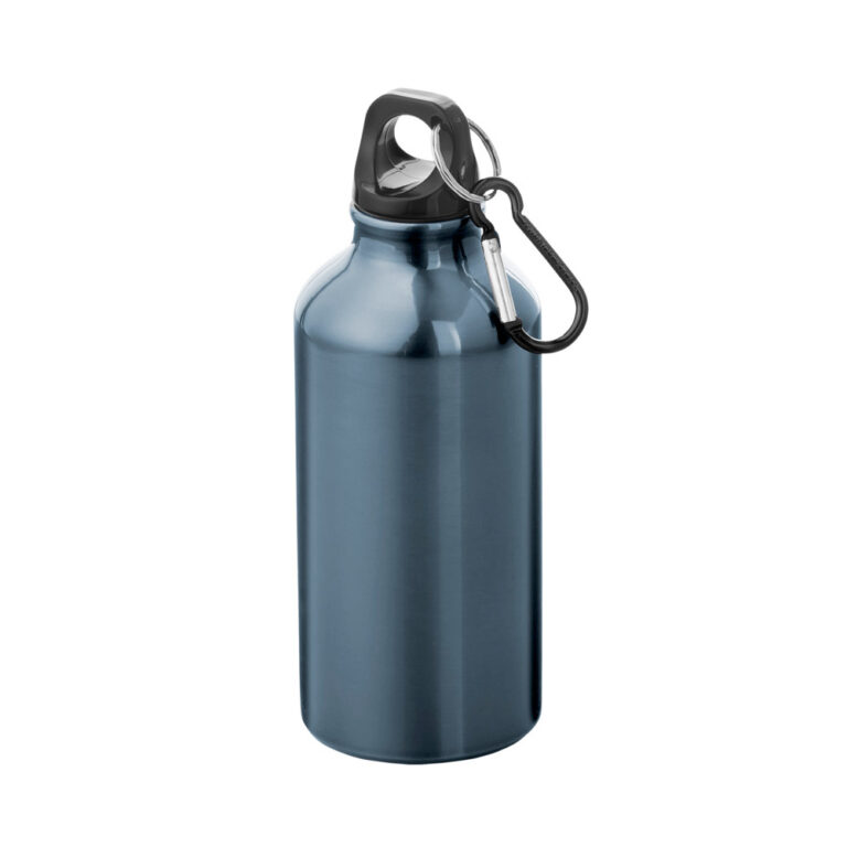 Aluminium Trinkflasche 400ml gunmetal