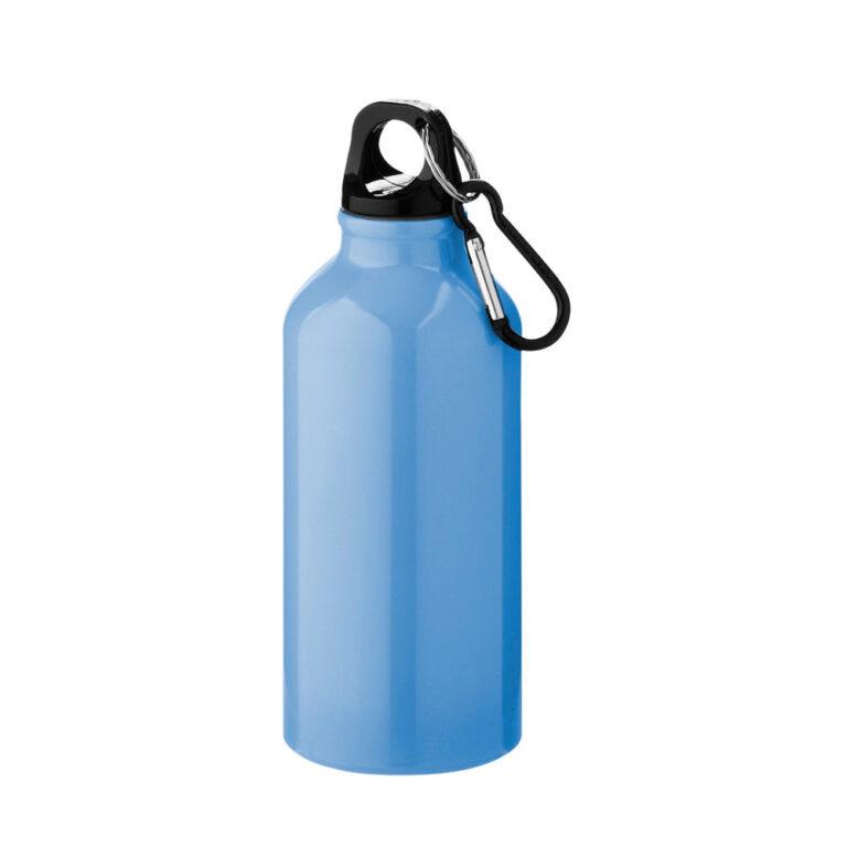 Aluminium Trinkflasche 400ml hellblau