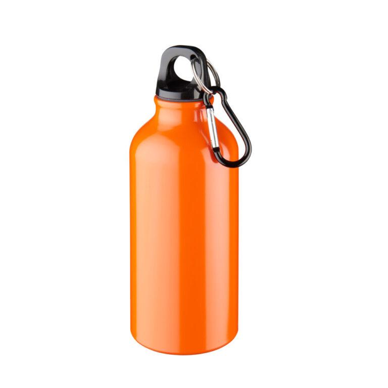 Aluminium Trinkflasche 400ml orange
