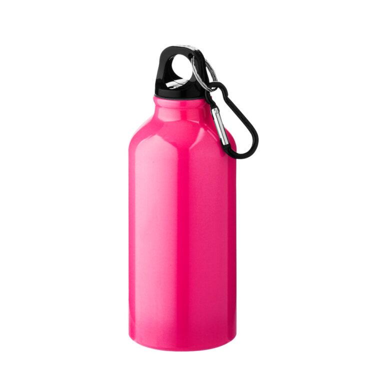 Aluminium Trinkflasche 400ml pink