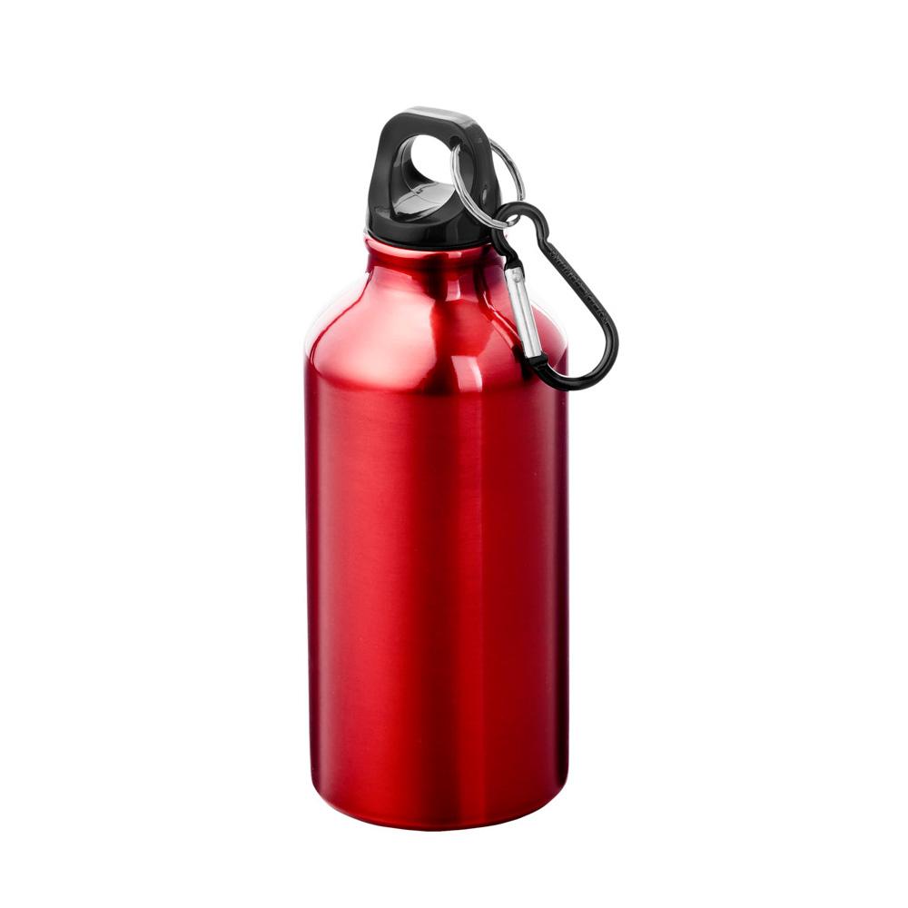 Aluminium Trinkflasche 400ml rot