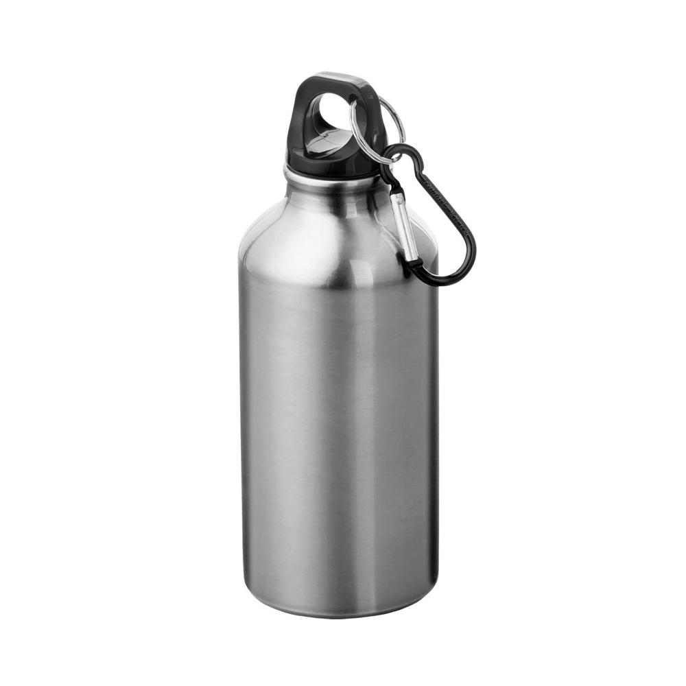 Aluminium Trinkflasche 400ml silber