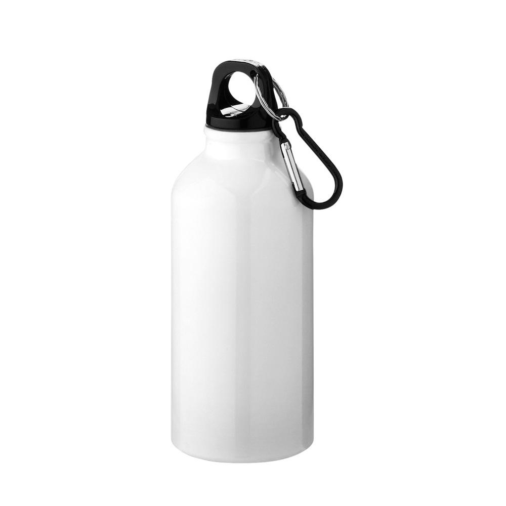 Aluminium Trinkflasche 400ml weiss