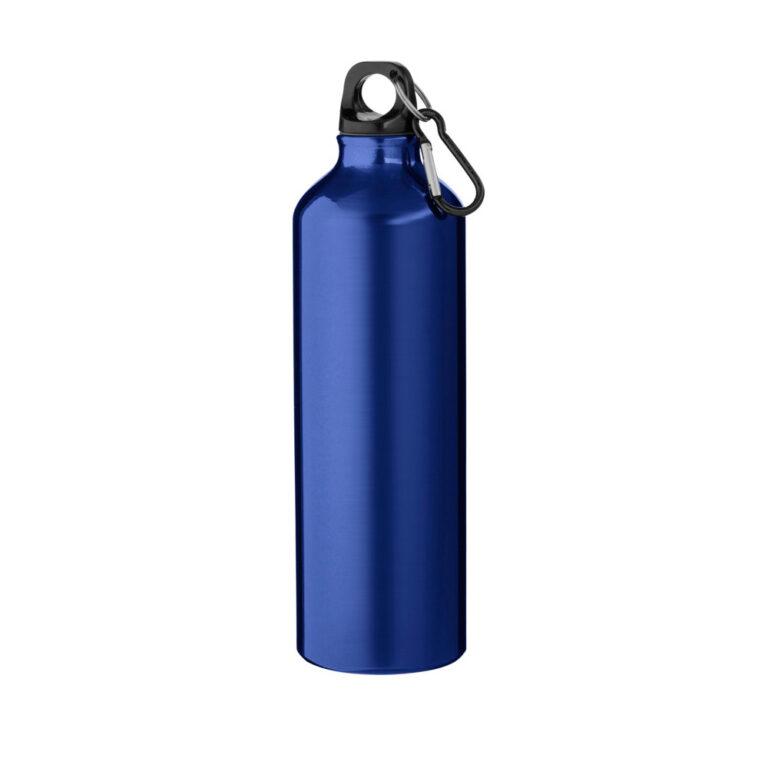 blaue Trinkflasche Aluminium 770ml bedrucken lassen