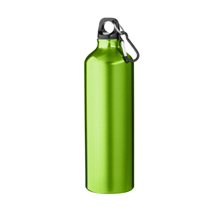 grüne Trinkflasche Aluminium 770ml bedrucken lassen