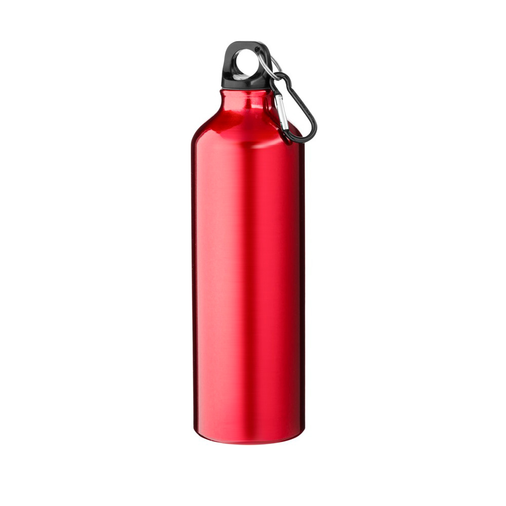 rote Trinkflasche Aluminium 770ml bedrucken lassen