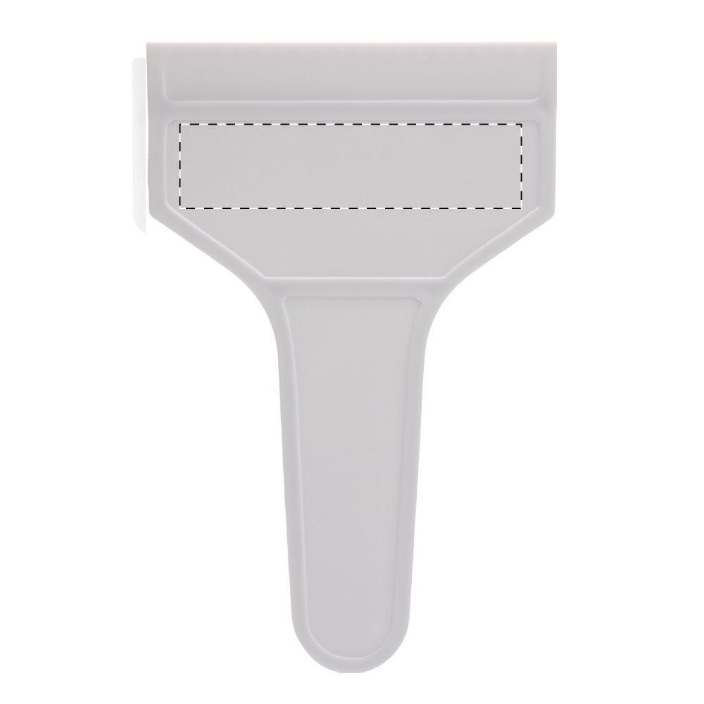 Eiskratzer mit Griff - werbeartikel Druckfläche 1