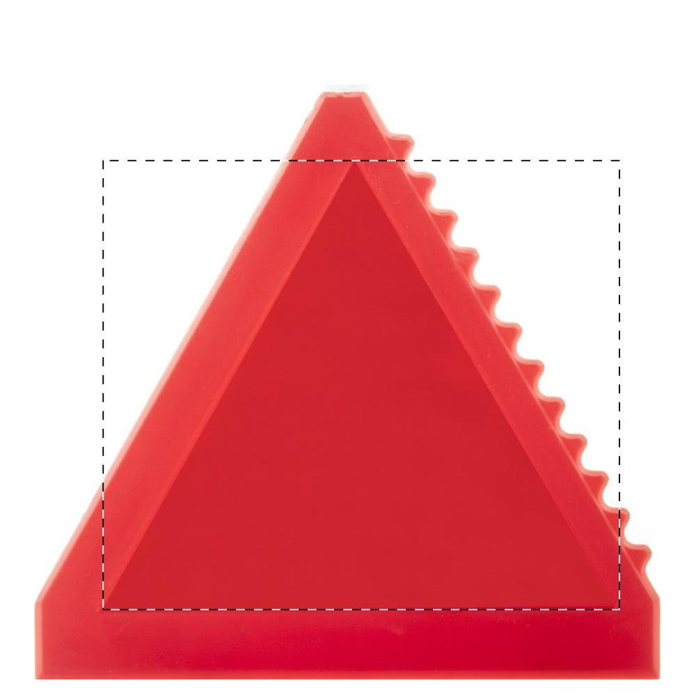 Dreieckiger Eiskratzer Druckfläche UV LED Druck