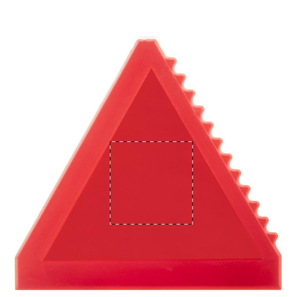 Dreieckiger Eiskratzer Druckfläche Tampondruck