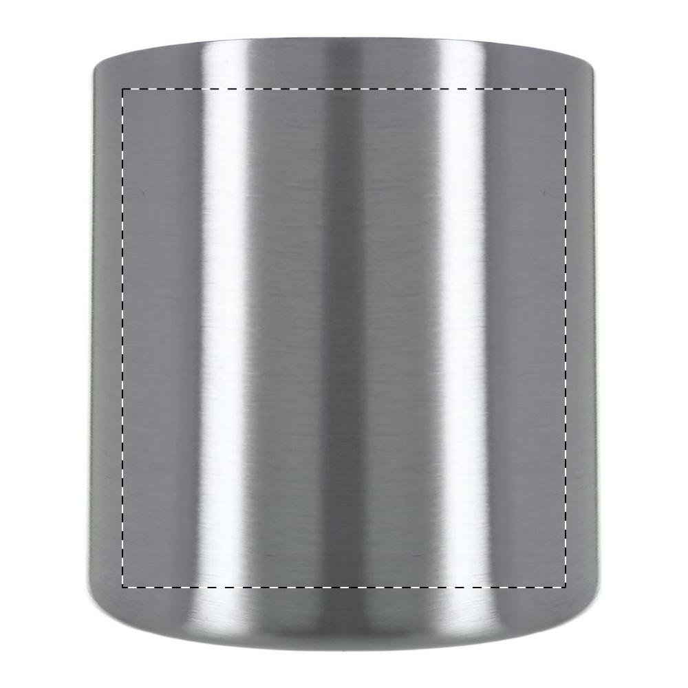 Logofläche - Druckfläche gegenüber Henkel