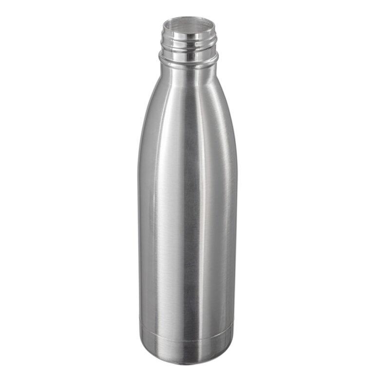 Thermotrinkflasche silber bedrucken lassen