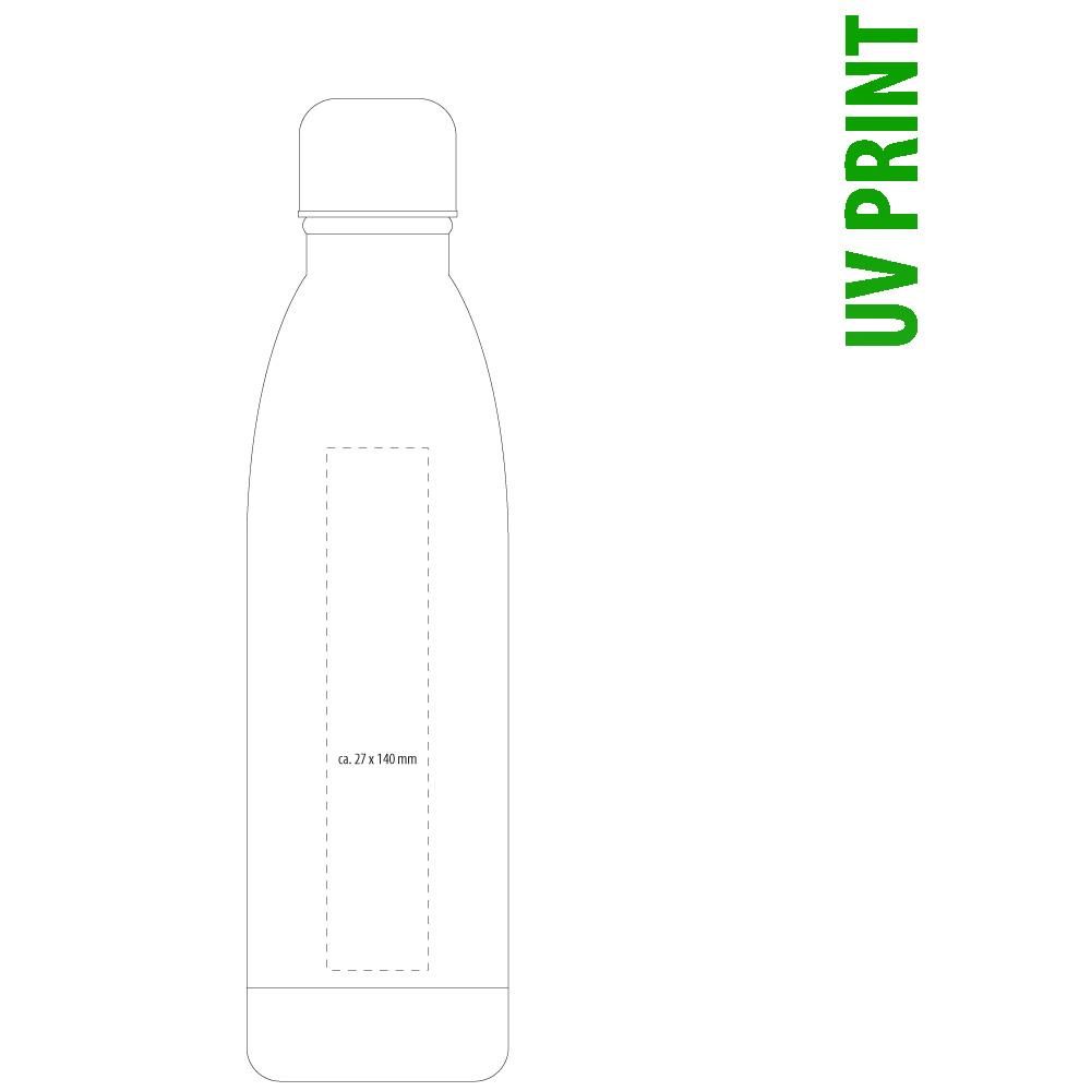UV Druck auf Isolierflasche