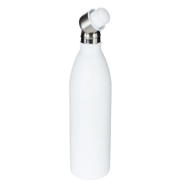 Thermotrinkflasche weiss bedrucken lassen